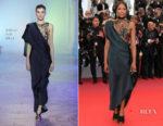 Naomi Campbell In Poiret - 'Blackkklansman' Cannes Film Festival Premiere