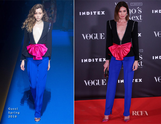 Nieves Alvarez In Gucci - Vogue Who's On Next Awards