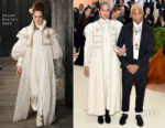 Pharrell Williams & Helen Lasichanh In Chanel - 2018 Met Gala