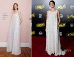 Phoebe Waller-Bridge In Adam Lippes - 'SOLO: A Star Wars Story' LA Premiere