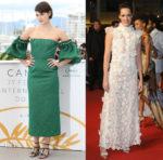 Phoebe Waller-Bridge In Mother of Pearl & Giambattista Valli Haute Couture - 'Solo: A Star Wars Story' Cannes Film Festival Premiere