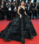 Praya Lundberg In Michael Cinco Couture -'Ash Is The Purest White (Jiang Hu Er Nv) Cannes Film Festival Premiere
