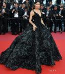 Praya Lundberg In Michael Cinco Couture -'Ash Is The Purest White (Jiang Hu Er Nv) Cannes Film Festival Premiere