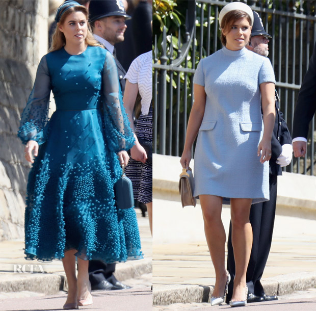 Princess Beatrice In Roksanda & Princess Eugenie In Gainsbourg ...