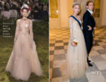 Princess Maria-Olympia of Greece In Christian Dior Haute Couture - Crown Prince Frederik's 50th Birthday Party