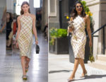 Priyanka Chopra In Bottega Veneta & Dion Lee - Out In New York City