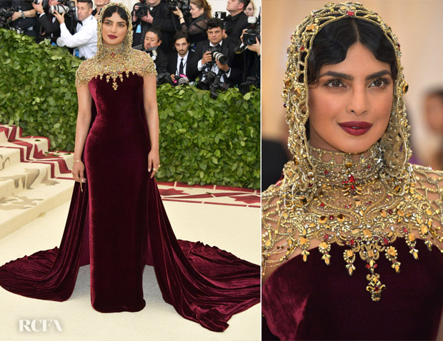 357662fc Priyanka Chopra In Ralph Lauren Collection - 2018 Met Gala ...