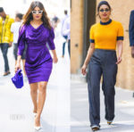 Priyanka Chopra In Vivienne Westwood & Ganni - Out In New York City
