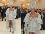 Rihanna In Maison Margiela Artisanal by John Galliano - 2018 Met Gala