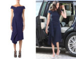 Meghan, Duchess of Sussex's Roland Mouret Barwick Dress