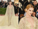 Rosie Huntington-Whiteley In Ralph Lauren Collection - 2018 Met Gala