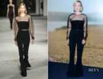 Saoirse Ronan In Cushnie et Ochs - 'On Chesil Beach' Special Screening