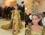 Sarah Jessica Parker In Dolce & Gabbana Alta Moda  - 2018 Met Gala