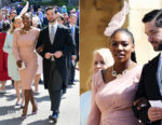 Serena Williams In Atelier Versace - Prince Harry & Meghan Markle's Royal Wedding