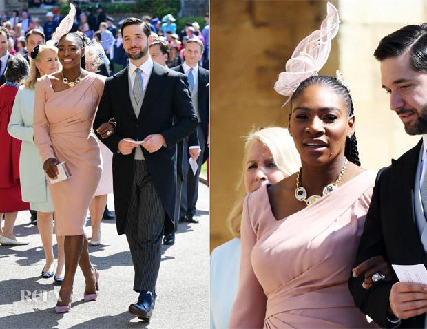 Serena Williams In Atelier Versace Prince Harry Meghan