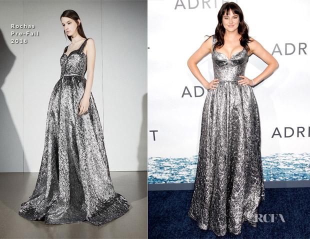 Shailene Woodley In Rochas - 'Adrift' LA Premiere