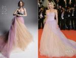 Sofia Boutella In Vera Wang Bridal - 'Farenheit 451' Cannes Film Festival Premiere