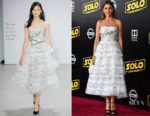 Sofia Vergara In Oscar de la Renta -  'SOLO: A Star Wars Story' LA Premiere