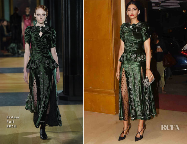 Sonam Kapoor In Erdem - 'Veere Di Wedding' Film Soundtrack Premiere