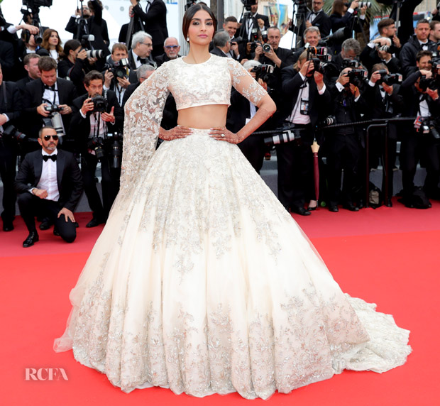 Sonam Kapoor In Ralph Russo Haute Couture Blackkklansman