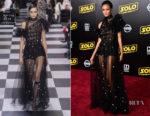 Thandie Newton In Christian Dior Haute Couture - 'SOLO: A Star Wars Story' LA Premiere