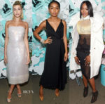 Tiffany & Co. Paper Flowers Event And Believe In Dreams Campaign Launch Red Carpet Roundup