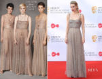 Vanessa Kirby In Christian Dior - Virgin TV BAFTA Television Awards