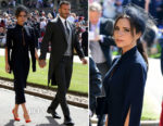 Victoria Beckham In Victoria Beckham - Prince Harry & Meghan Markle's Royal Wedding