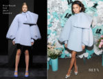 Zendaya Coleman In Dice Kayek Couture - Tiffany & Co. Paper Flowers Event And Believe In Dreams Campaign Launch