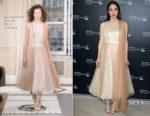 Zoe Kazan In Schiaparelli Haute Couture - 'Wildlife' Cannes Film Festival Screening