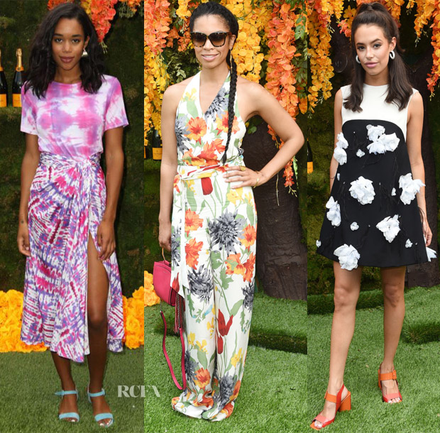 11th Annual Veuve Clicquot Polo Classic Red Carpet Roundup Red