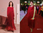 Alexandra Daddario In Stella McCartney - 2018 Life Ball
