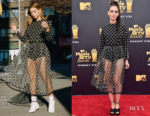 Alison Brie In Sandy Liang - 2018 MTV Movie And TV Awards