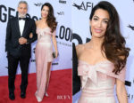 Amal Clooney In Prada - American Film Institute's 46th Life Achievement Award Gala Tribute to George Clooney