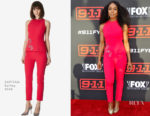 Angela Bassett In SAFIYAA - FYC Event For Fox's '9-1-1'