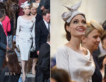 Angelina Jolie In Ralph & Russo Couture - St Paul's Cathedral