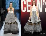Anne Hathaway In Jean Paul Gaultier Haute Couture - 'Ocean's 8' World Premiere