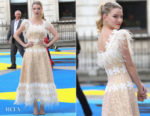 Anya Taylor-Joy In Huishan Zhang - Royal Academy Of Arts Summer Exhibition Preview