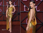 Bella Hadid In Versace - Bvlgari Dinner & Party
