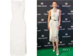 Bella Hadid's Dion Lee Fringed Laser Cut Dress
