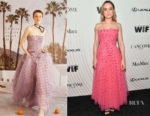 Brie Larson In Carolina Herrera - Women In Film 2018 Crystal + Lucy Awards