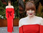 Bryce Dallas Howard In Roland Mouret - 'Jurassic World: Fallen Kingdom' LA Premiere