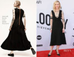 Cate Blanchett In Aouadi Paris Couture – American Film Institute's 46th Life Achievement Award Gala Tribute to George Clooney