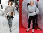 Cate Blanchett In Louis Vuitton - 'Ocean's 8' London Premiere