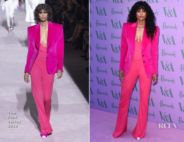 Ciara In Tom Ford - V&A Summer Party
