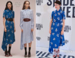 Claire Foy In Erdem -  'The Girl In The Spider's Web' Barcelona Photocall
