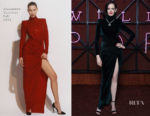 Eva Green In Alexandre Vauthier - Bvlgari Dinner & Party