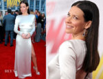 Evangeline Lilly In August Getty Atelier - 'Ant-Man And The Wasp' LA Premiere