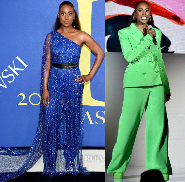 12b5e163 Issa Rae hosted the 2018 CFDA Fashion Awards on Monday (June 4) held at the  Brooklyn Museum in New York City. Red Carpet: ...