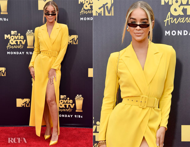 Jasmine Sanders In Alexander Terekhov - 2018 MTV Movie And TV Awards